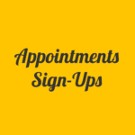 Appointment Sign-ups